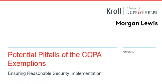 CCPA Cyber Security– Building the Foundation to Compliance